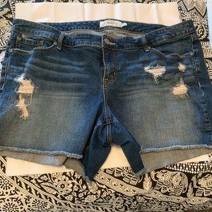 Torrid Jean Shorts Size 22